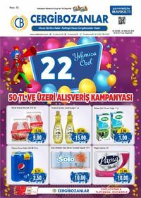 Cergibozanlar 22 Kasım - 02 Aralık 2018 Kampanya Broşürü! Sayfa 1