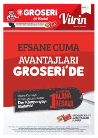 Groseri 01 - 30 Kasım 2018 Kampanya Broşürü! Sayfa 1
