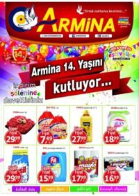 Armina Market 19 - 25 Kasım 2018 Kampanya Broşürü! Sayfa 1
