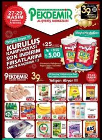 Pekdemir 27 - 29 Kasım 2018 Kampanya Broşürü! Sayfa 1