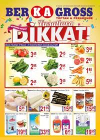 Grup Ber-ka Market 30 Kasım - 09 Aralık 2018 İndirim Broşürü! Sayfa 1