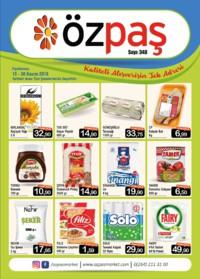 Özpaş Market 15 - 30 Kasım 2018 Kampanya Broşürü! Sayfa 1
