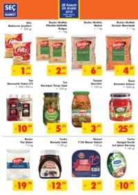 Seç Market 28 Kasım - 04 Aralık 2018 Kampanya Broşürü! Sayfa 2