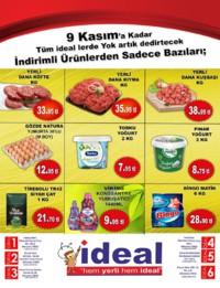 İdeal Market Ordu 04 - 09 Kasım 2018 Kampanya Broşürü! Sayfa 1