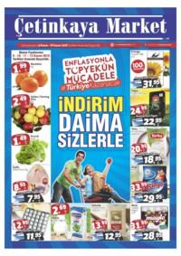 Çetinkaya Market 09 - 18 Kasım 2018 Kampanya Broşürü! Sayfa 1