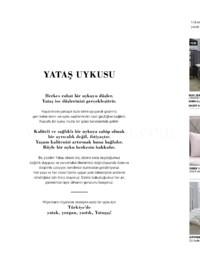 Yataş Bedding Ekim - Aralık 2018 Sonbahar Kış Koleksiyonu Kataloğu Sayfa 2