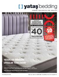 Yataş Bedding Ekim - Aralık 2018 Sonbahar Kış Koleksiyonu Kataloğu Sayfa 1