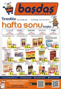 Başdaş Market 09 - 11 Kasım 2018 Kampanya Broşürü! Sayfa 1