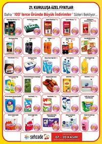 Şehzade Market 07 - 20 Kasım 2018 Fırsat Ürünleri Sayfa 2