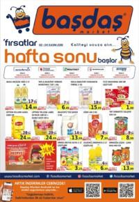 Başdaş Market 02 - 04 Kasım 2018 Kampanya Broşürü! Sayfa 1