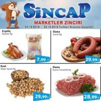 Sincap Marketler Zinciri 29 - 30 Aralık 2018 Fırsat Ürünleri Sayfa 1