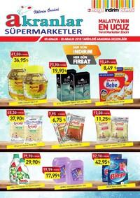 Akranlar Süpermarket 05 - 20 Aralık 2018 Kampanya Broşürü! Sayfa 1