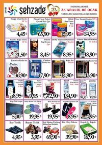 Şehzade Market 26 Aralık 2018 - 08 Ocak 2019 Kampanya Broşürü! Sayfa 4 Önizlemesi