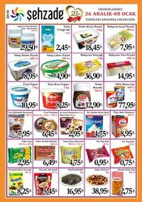 Şehzade Market 26 Aralık 2018 - 08 Ocak 2019 Kampanya Broşürü! Sayfa 2 Önizlemesi