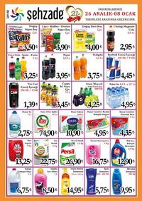 Şehzade Market 26 Aralık 2018 - 08 Ocak 2019 Kampanya Broşürü! Sayfa 3 Önizlemesi