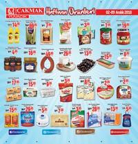 Çakmak Market 02 - 09 Aralık 2018 Kampanya Broşürü! Sayfa 1