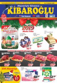 Kibaroğlu 24 - 31 Aralık 2018 Kampanya Broşürü! Sayfa 1