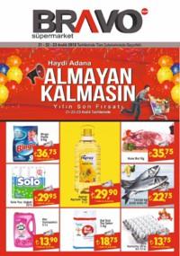 Bravo Süpermarket 21 - 23 Aralık 2018 Kampanya Broşürü! Sayfa 1