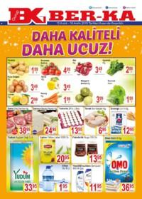 Grup Ber-ka Market 13 - 16 Aralık 2018 Kampanya Broşürü! Sayfa 1