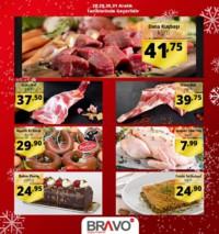 Bravo Süpermarket 28 - 31 Aralık 2018 Haftasonu İndirimleri Sayfa 1