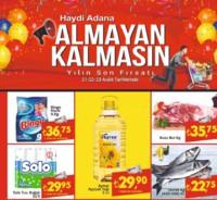 Bravo Süpermarket 21 - 23 Aralık 2018 Kampanya Broşürü! Sayfa 1 Önizlemesi