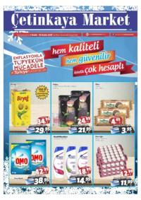 Çetinkaya Market 07 - 16 Aralık 2018 Kampanya Broşürü! Sayfa 1