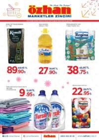 Özhan Marketler Zinciri 10 - 16 Aralık 2018 Kampanya Broşürü! Sayfa 1