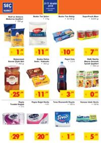 Seç Market 05 - 11 Aralık 2018 Kampanya Broşürü! Sayfa 2