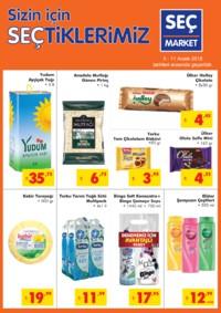 Seç Market 05 - 11 Aralık 2018 Kampanya Broşürü! Sayfa 1