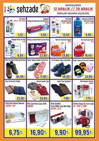 Şehzade Market 12 - 25 Aralık 2018 Kampanya Broşürü! Sayfa 4 Önizlemesi
