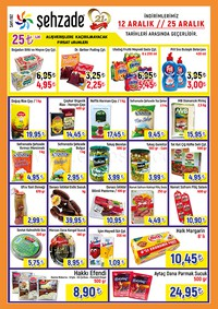 Şehzade Market 12 - 25 Aralık 2018 Kampanya Broşürü! Sayfa 1