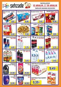 Şehzade Market 12 - 25 Aralık 2018 Kampanya Broşürü! Sayfa 3 Önizlemesi