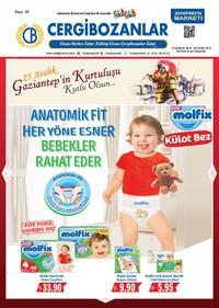 Cergibozanlar 27 Aralık 2018 - 06 Ocak 2019 Kampanya Broşürü! Sayfa 1
