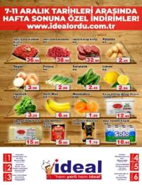 İdeal Market Ordu 07 - 11 Aralık 2018 Kampanya Broşürü! Sayfa 2