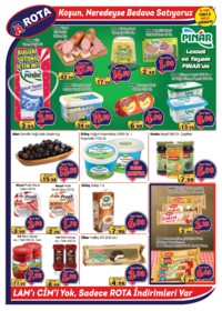 Rota Market 06 - 19 Aralık 2018 Kampanya Broşürü! Sayfa 2 Önizlemesi
