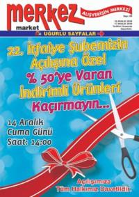 Merkez Market 14 - 17 Aralık 2018 Kampanya Broşürü! Sayfa 1