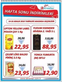 Akranlar Süpermarket 14 - 16 Aralık 2018 Fırsat Ürünleri Sayfa 1