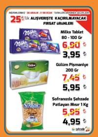 Şehzade Market 26 Aralık 2018 - 08 Ocak 2019 İndirim Broşürü! Sayfa 1 Önizlemesi