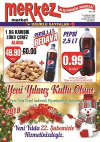 Merkez Market 21 Aralık 2018 - 13 Ocak 2019 Kampanya Broşürü! Sayfa 1