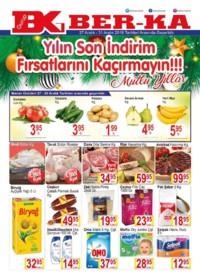 Grup Ber-ka Market 27 - 31 Aralık 2018 Kampanya Broşürü! Sayfa 1