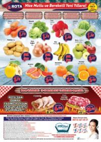 Rota Market 27 Aralık 2018 - 02 Ocak 2019 Kampanya Broşürü! Sayfa 4 Önizlemesi