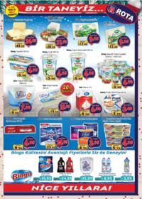 Rota Market 27 Aralık 2018 - 02 Ocak 2019 Kampanya Broşürü! Sayfa 3 Önizlemesi