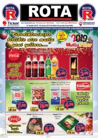 Rota Market 27 Aralık 2018 - 02 Ocak 2019 Kampanya Broşürü! Sayfa 1