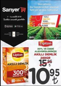 Sarıyer Market 07 - 19 Aralık 2018 Kampanya Broşürü! Sayfa 1