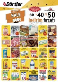 Dörtler Market 27 - 31 Aralık 2018 Kampanya Broşürü! Sayfa 1