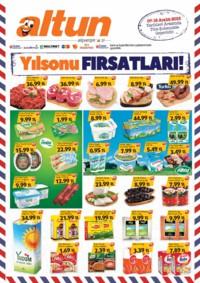 Altun Market 07 - 16 Aralık 2018 Kampanya Broşürü! Sayfa 1 Önizlemesi