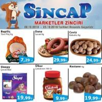 Sincap Marketler Zinciri 22 - 23 Aralık 2018 Kampanya Broşürü! Sayfa 1