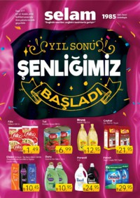 Selam Market 07 - 27 Aralık 2018 Kampanya Broşürü! Sayfa 1