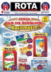 Rota Market 20 - 26 Aralık 2018 Kampanya Broşürü! Sayfa 1