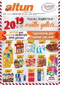 Altun Market 22 - 31 Aralık 2018 Kampanya Broşürü! Sayfa 1 Önizlemesi